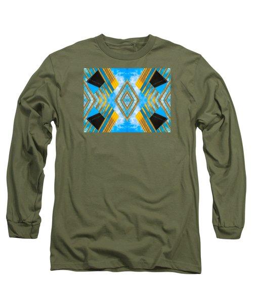 State And Grand Diamond N92 V3  Long Sleeve T-Shirt by Raymond Kunst