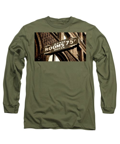 State Hotel - Seattle Long Sleeve T-Shirt