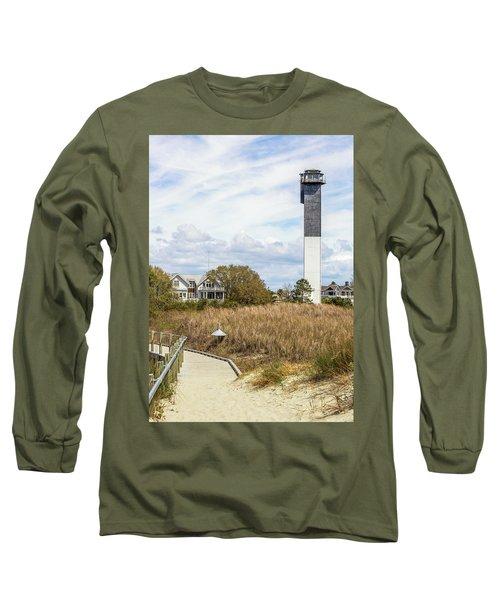 Station 18 On Sullivan's Island, Sc Long Sleeve T-Shirt
