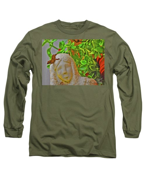 Statue Lizard  Long Sleeve T-Shirt