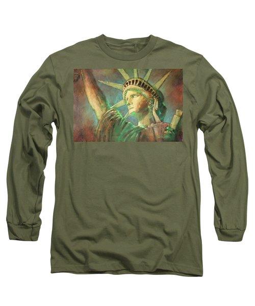 Statue Of Liberty 1 Long Sleeve T-Shirt