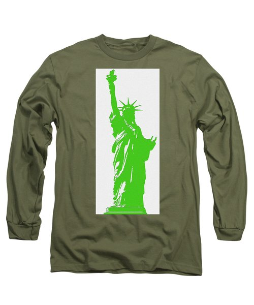 Statue Of Liberty No. 9-1 Long Sleeve T-Shirt