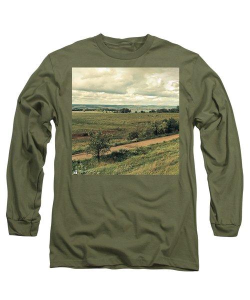 Stausee Kelbra  #nature  #flowers Long Sleeve T-Shirt by Mandy Tabatt