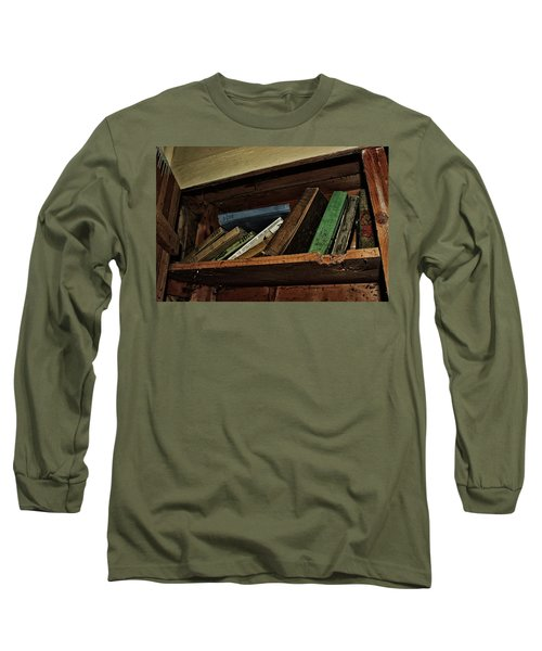 Long Sleeve T-Shirt featuring the photograph Stay A While And Listen by Ryan Crouse