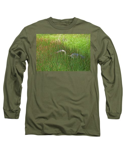 Stealth Heron Long Sleeve T-Shirt