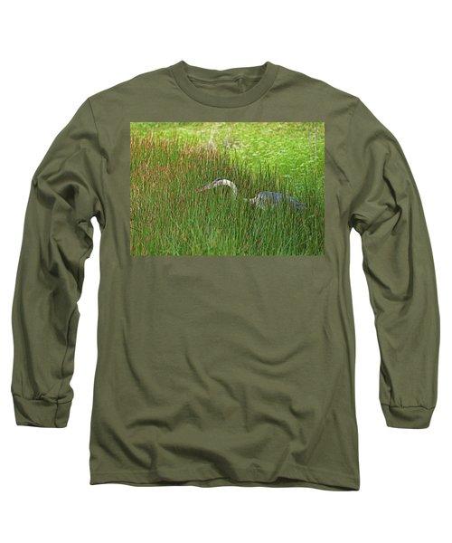 Stealth Heron Long Sleeve T-Shirt