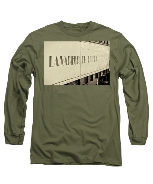 Long Sleeve T-Shirt featuring the photograph Steam Train Series No 34 by Clare Bambers
