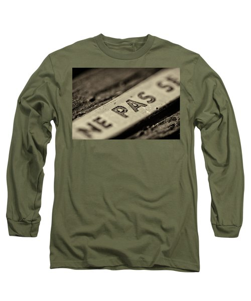 Long Sleeve T-Shirt featuring the photograph Steam Train Series No 35 by Clare Bambers