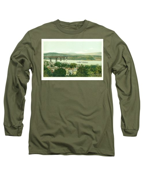 Steamers Waterfront And Ferrys - 07 Long Sleeve T-Shirt