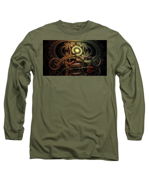 Steampunk Chopper Long Sleeve T-Shirt