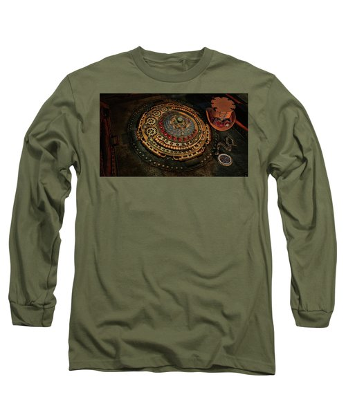 Long Sleeve T-Shirt featuring the photograph Steampunk by Louis Ferreira