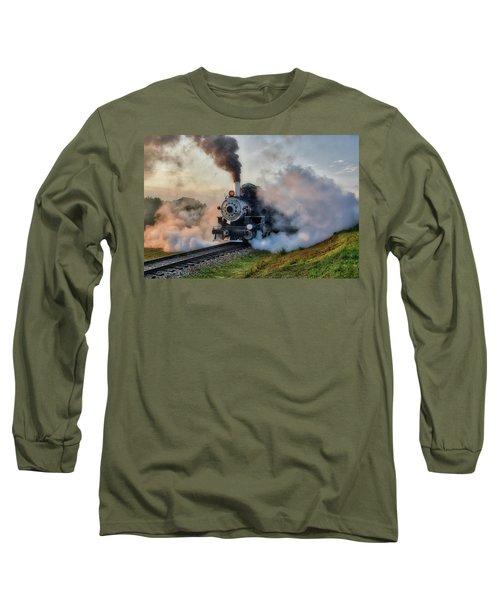 Steamy Departure Long Sleeve T-Shirt