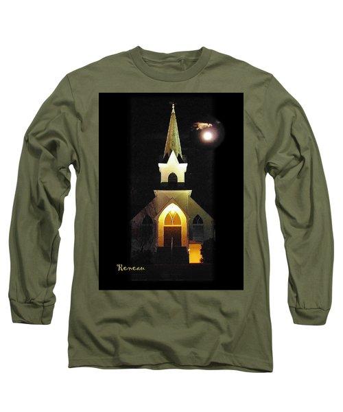 Steeple Chase 3 Long Sleeve T-Shirt by Sadie Reneau