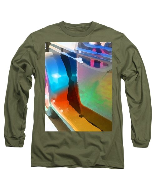 Step Up Long Sleeve T-Shirt by Richard Laeton