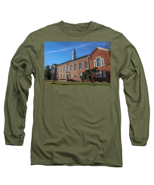 Long Sleeve T-Shirt featuring the photograph Stephens Hall by Gregory Daley  PPSA