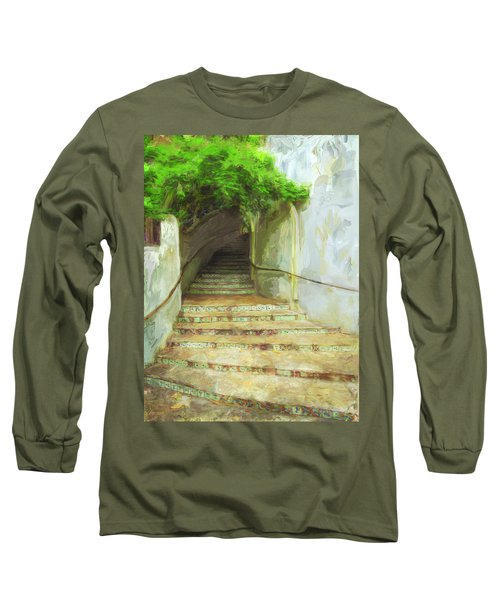 Steps To La Villita Long Sleeve T-Shirt