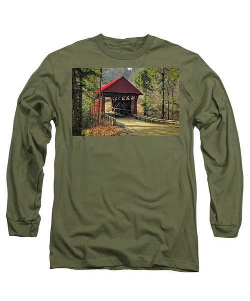 Sterling Covered Bridge Long Sleeve T-Shirt