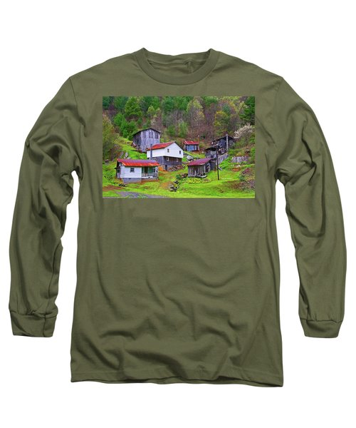 Stike Holler Long Sleeve T-Shirt by Dale R Carlson
