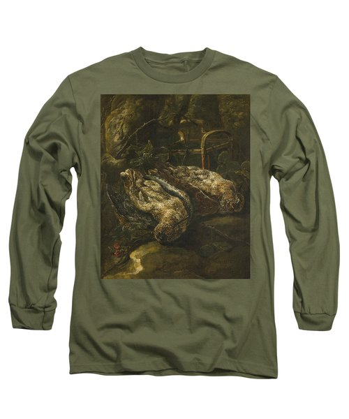 Still Life With Woodcocks Long Sleeve T-Shirt