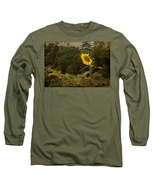 Still Standing Long Sleeve T-Shirt by Arlene Carmel