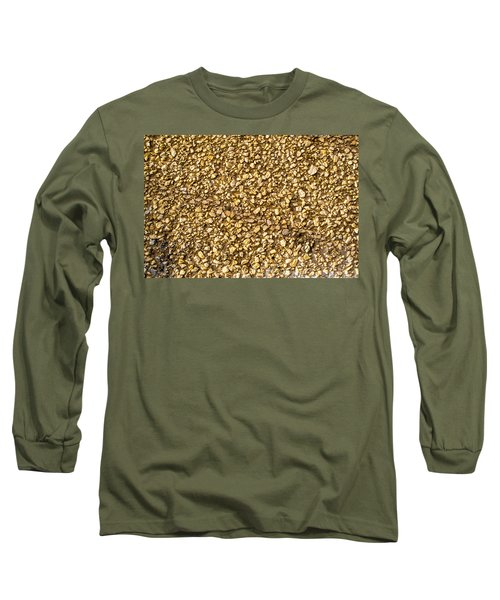 Long Sleeve T-Shirt featuring the photograph Stone Chip On A Wall by John Williams