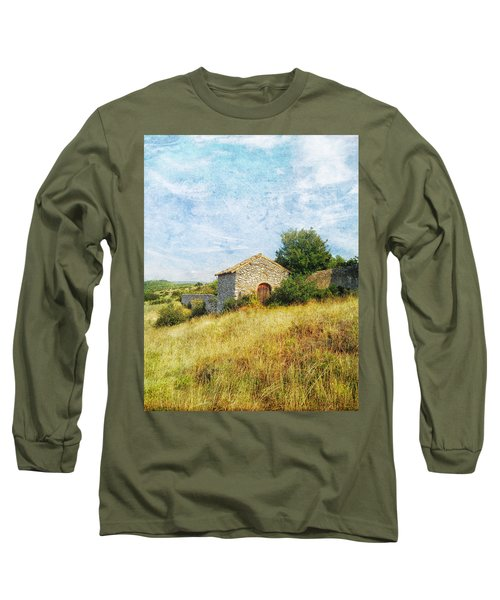 Provence Countryside Long Sleeve T-Shirt by Catherine Alfidi