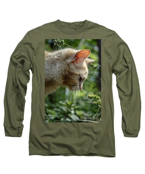 Stop And Smell The Flowers 9433a Long Sleeve T-Shirt