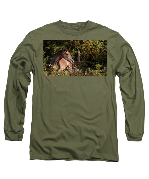 Stop And Smell The Flowers Long Sleeve T-Shirt