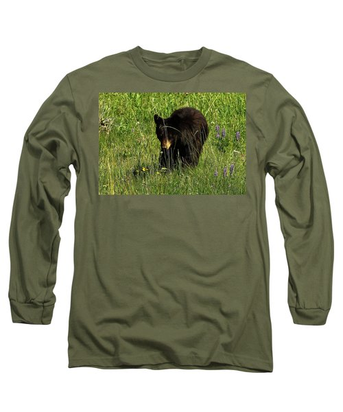 Stopping To Smell The Flowers Long Sleeve T-Shirt