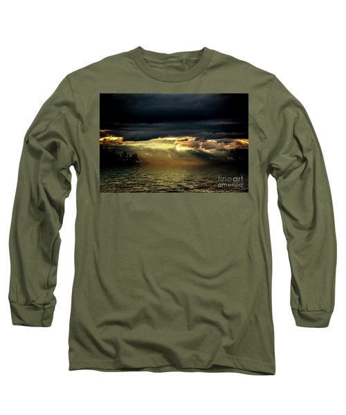Storm 4 Long Sleeve T-Shirt by Elaine Hunter