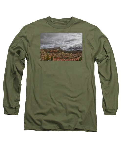 Long Sleeve T-Shirt featuring the photograph Storm Lifting by Tom Kelly