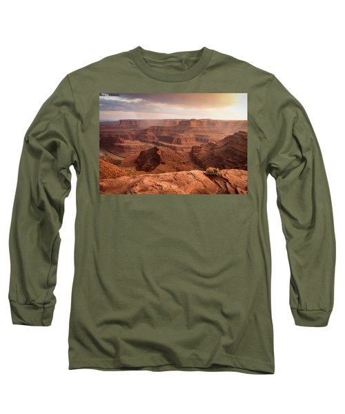 Storm Over Canyonlands Long Sleeve T-Shirt