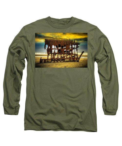 Stormy Shipwreck Long Sleeve T-Shirt