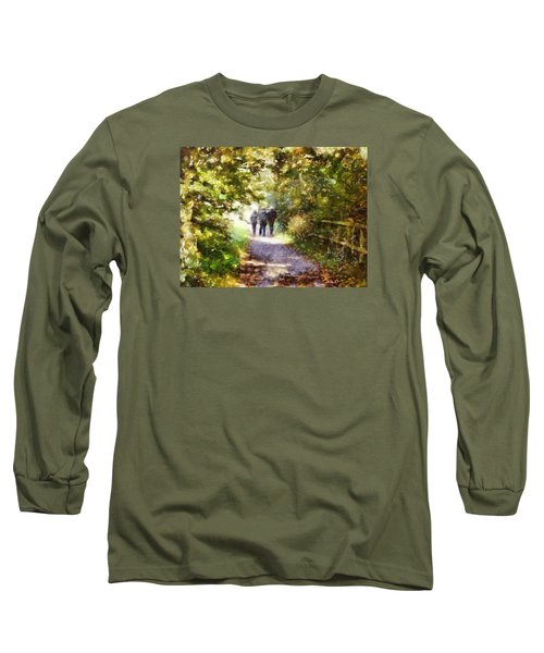 Strangers On A Footpath / In To The Light Long Sleeve T-Shirt