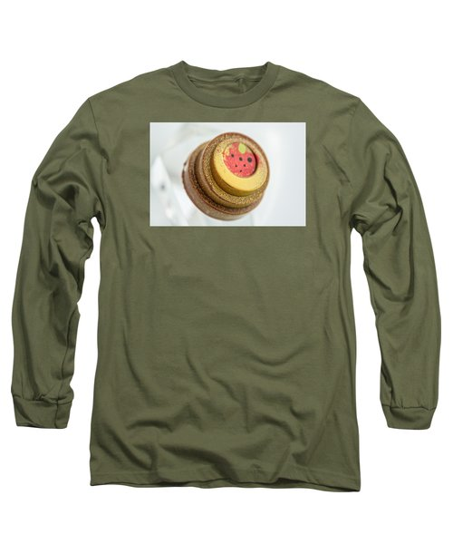 Long Sleeve T-Shirt featuring the photograph Strawberry Strawberry by Sabine Edrissi