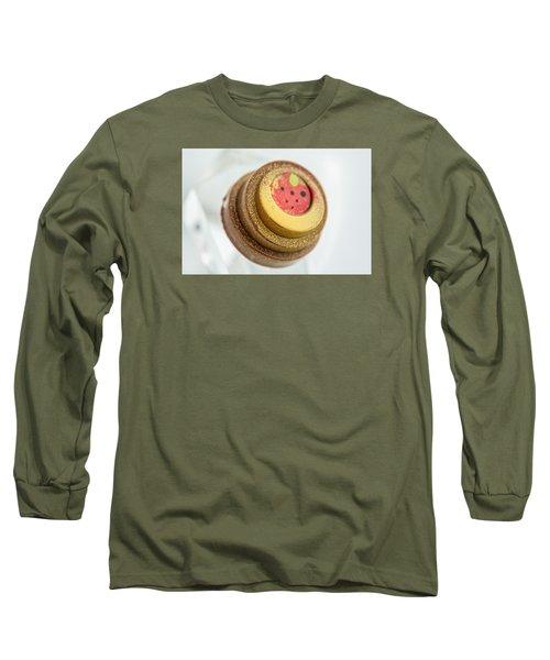 Strawberry Strawberry Long Sleeve T-Shirt by Sabine Edrissi
