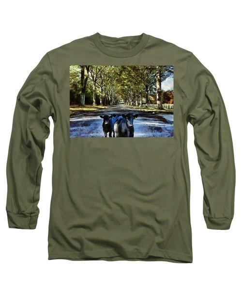 Street Cows Long Sleeve T-Shirt
