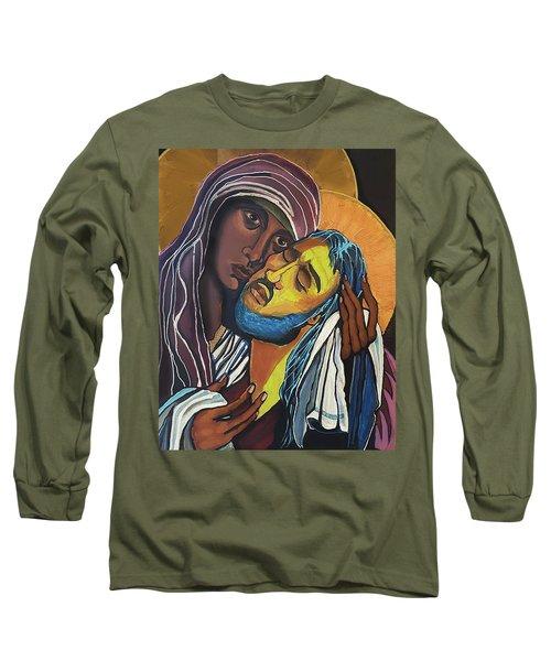 Street Madonna Long Sleeve T-Shirt