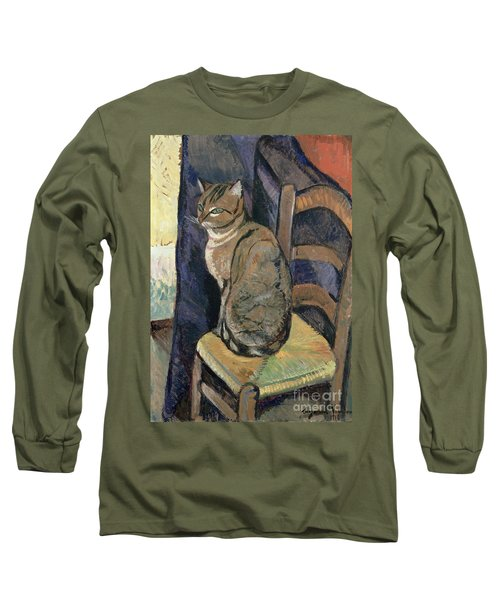 Study Of A Cat Long Sleeve T-Shirt