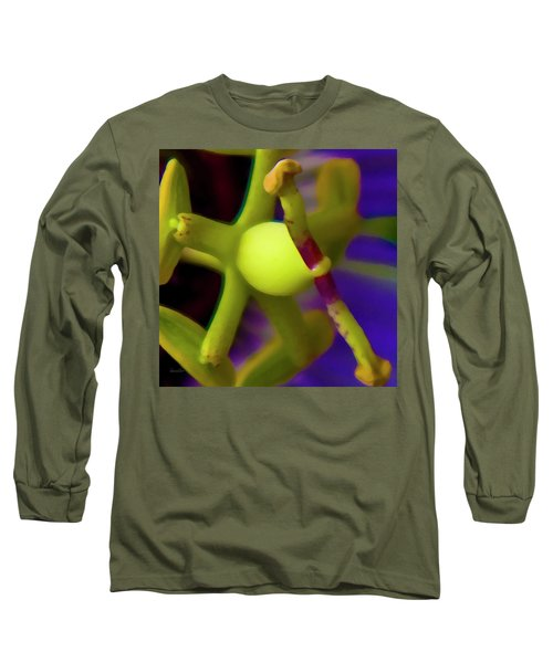 Study Of Pistil And Stamen Long Sleeve T-Shirt