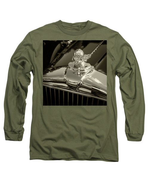 Stutz Hood Ornament Long Sleeve T-Shirt