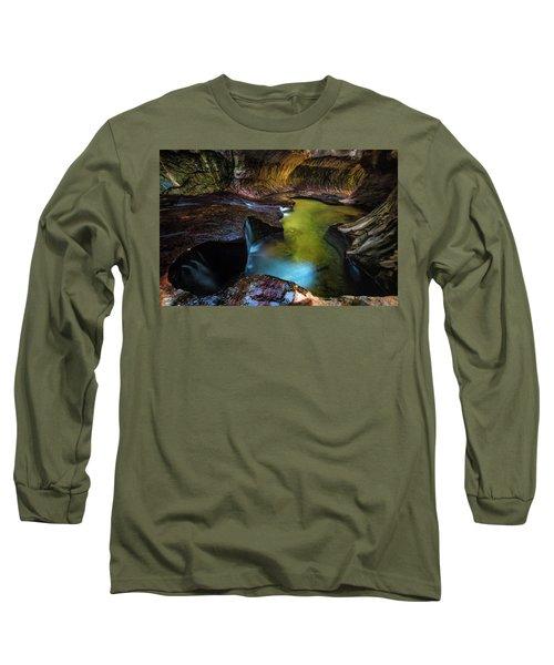 Subway Pools Long Sleeve T-Shirt