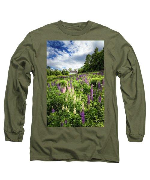 Long Sleeve T-Shirt featuring the photograph Sugar Hill by Robert Clifford