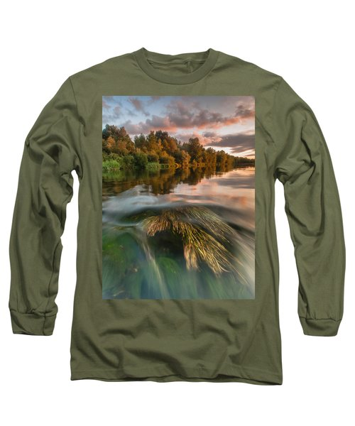Summer Afternoon Long Sleeve T-Shirt by Davorin Mance