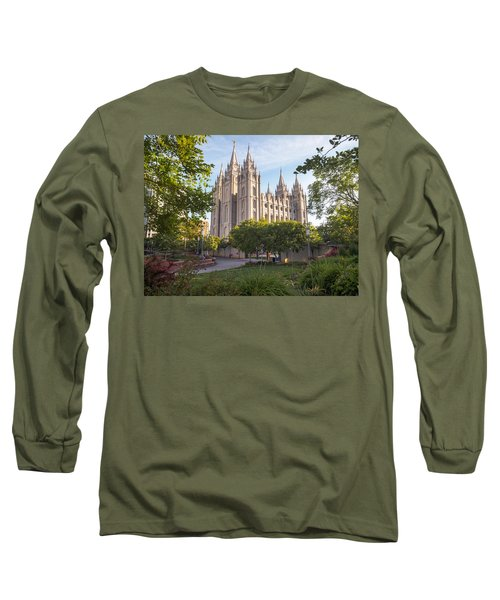 Summer At Temple Square Long Sleeve T-Shirt