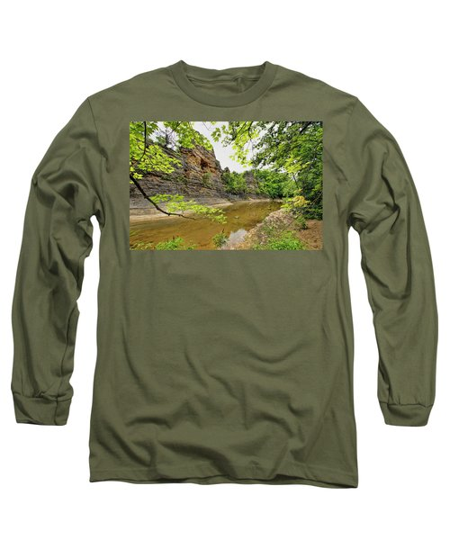 Long Sleeve T-Shirt featuring the photograph Summer At The Pinnacles by Cricket Hackmann