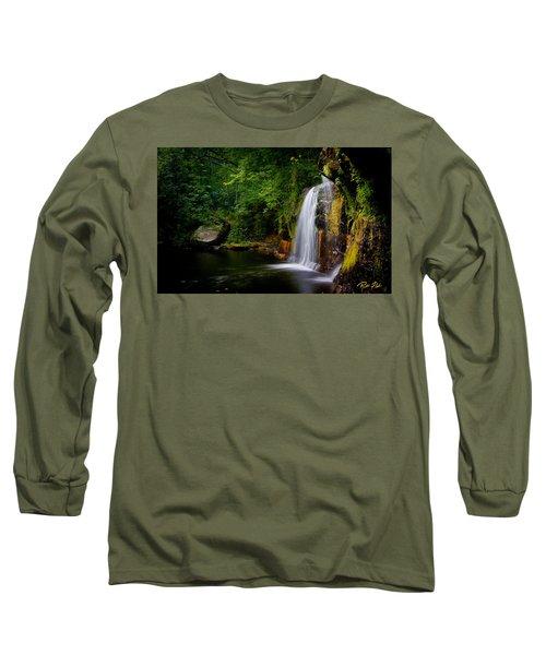 Summer At Wolf Creek Falls Long Sleeve T-Shirt