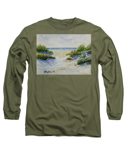 Summer Beach Long Sleeve T-Shirt