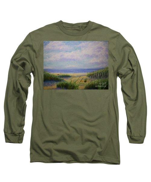 Summer Day At The Beach Long Sleeve T-Shirt