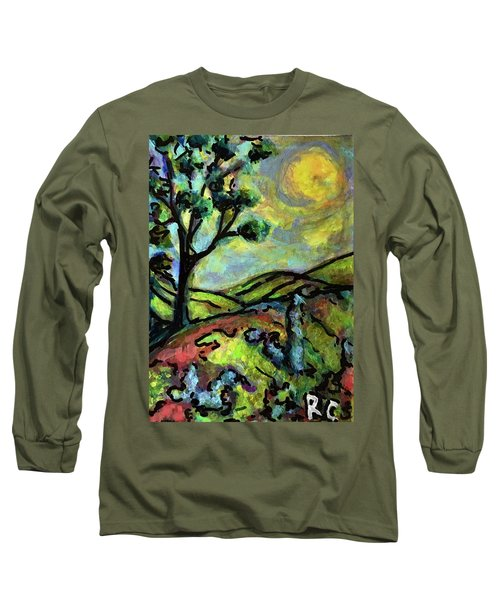 Summer Day Long Sleeve T-Shirt by Rae Chichilnitsky